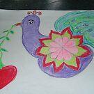 my dear peacock by sunflower dream