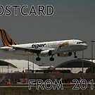Postcards From The Past - Tiger On Finals 2011 by muz2142