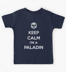 Keep Calm I'm a Paladin Kids Clothes