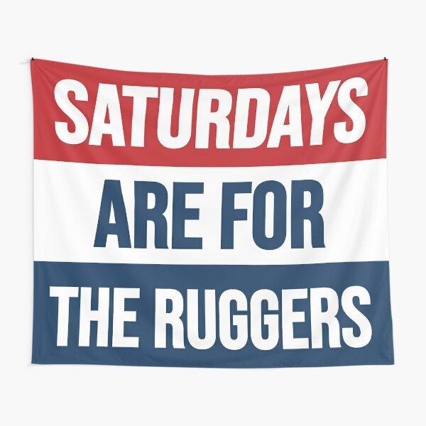 Los sábados son para los ruggers Tela decorativa
