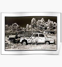 Old Cars- Mahabaleshwar India Poster