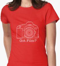 Canon EOS 1v 'Got Film?' T Shirt Womens Fitted T-Shirt