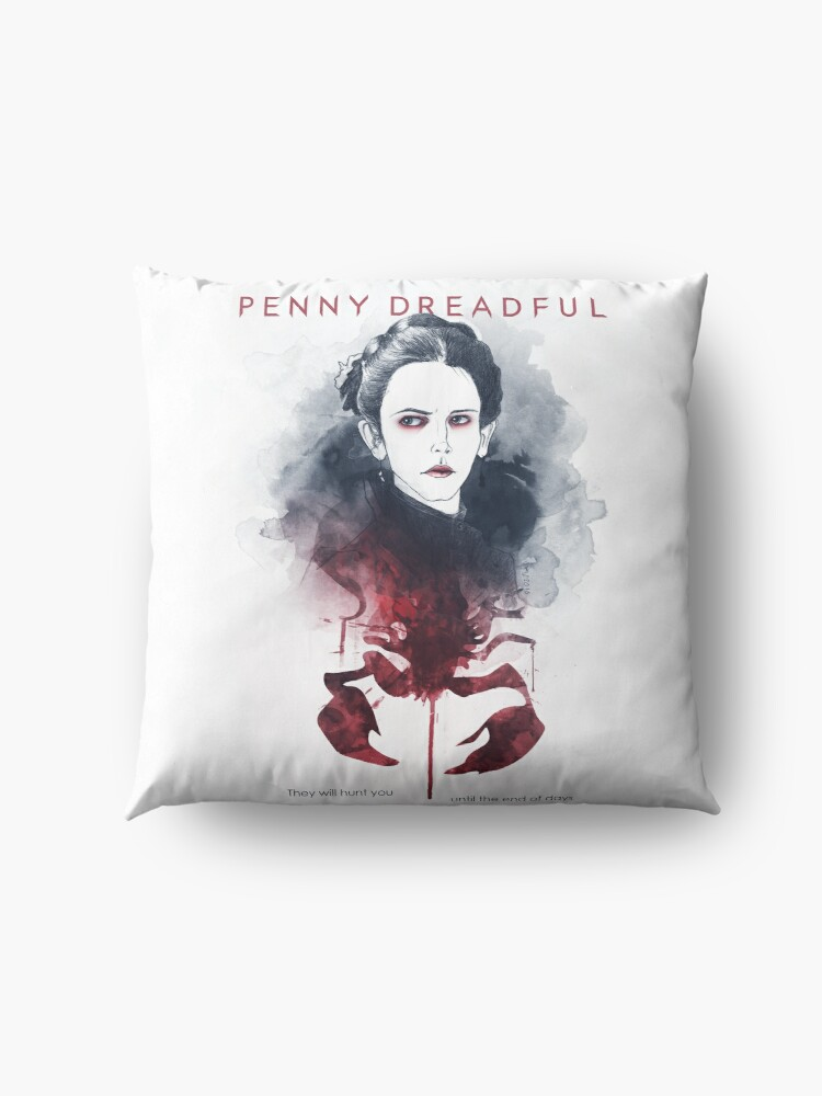 Alternate view of Penny Dreadful - They Will Hunt You Floor Pillow
