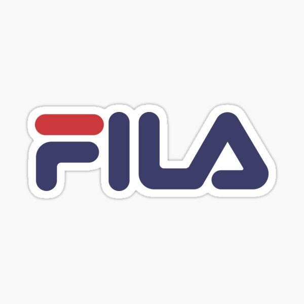 FILA SHOE STICKER Sticker