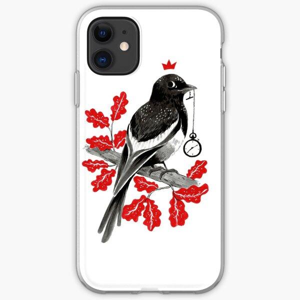 Precious Magpie iPhone Soft Case