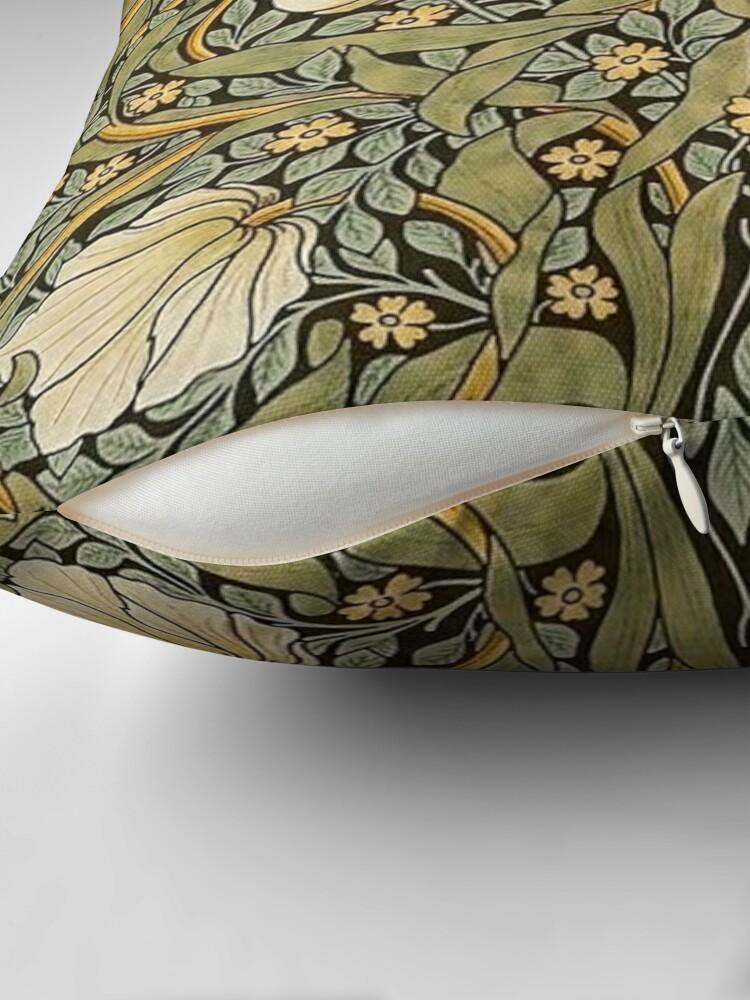 Alternate view of William Morris Pimpernel Throw Pillow