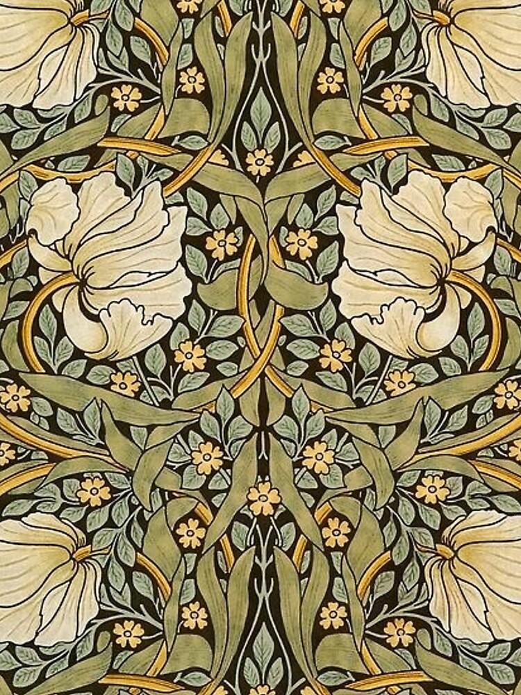William Morris Pimpernel by historicalstuff