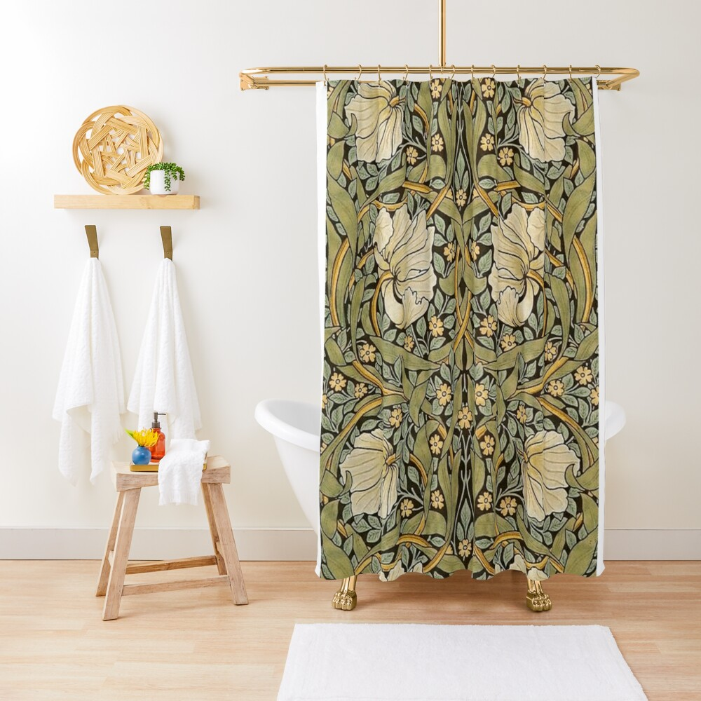William Morris Pimpernel Shower Curtain