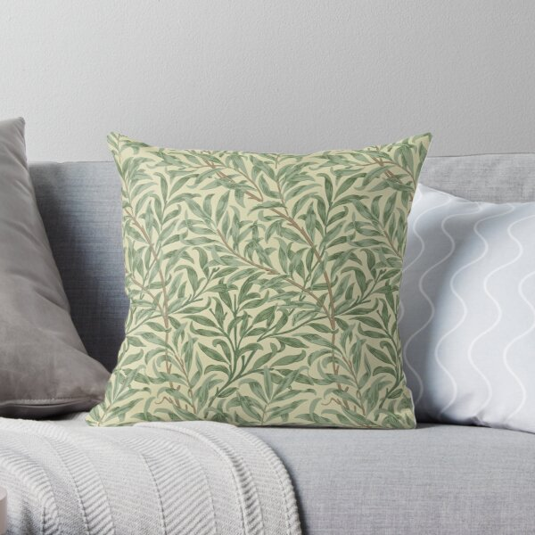 William Morris Willow Boughs Throw Pillow