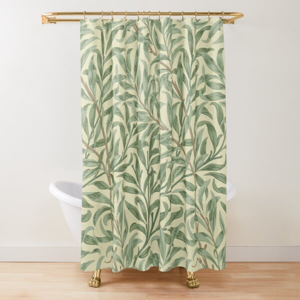 William Morris Willow Boughs Shower Curtain