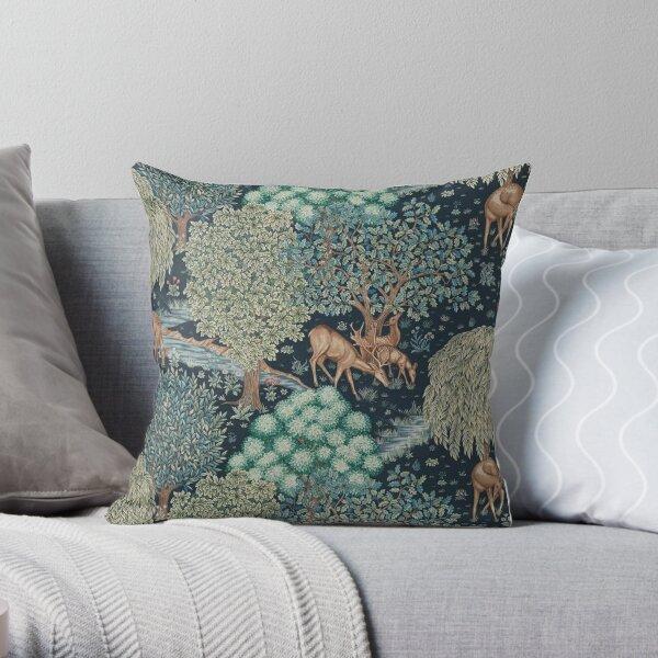 William Morris The Brook Throw Pillow
