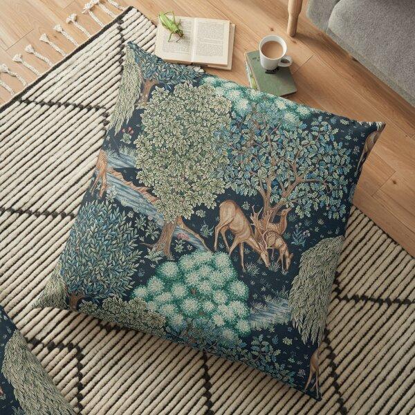 William Morris The Brook Floor Pillow