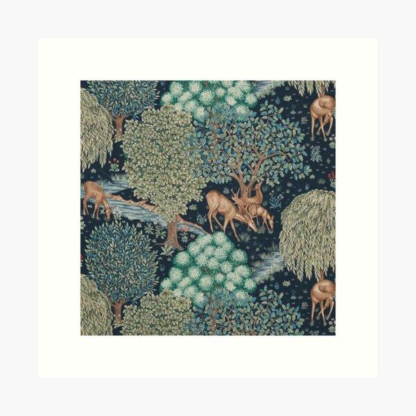 William Morris el arroyo Lámina artística