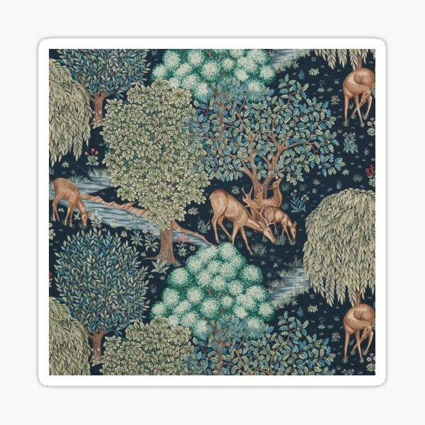 William Morris The Brook Sticker