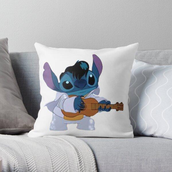 Stitch – Elvis Throw Pillow