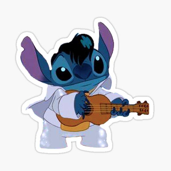 Stitch – Elvis Sticker