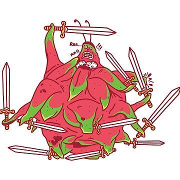 Dragon Warrior by merupa