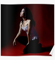 Red with light Poster