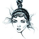 crazy bun by Lara Wolf
