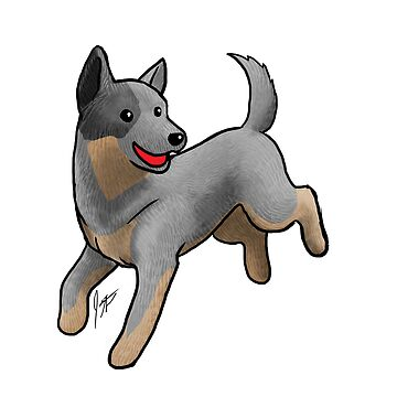 Australian Cattle Dog/ Blue Heeler by jameson9101322