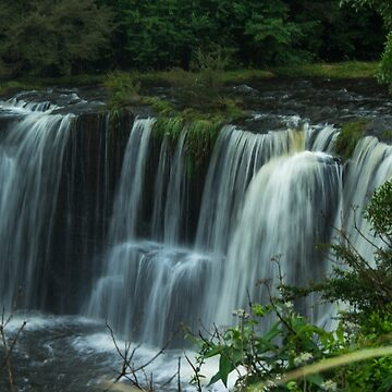 The Falls at Rocky Creek by colinsart
