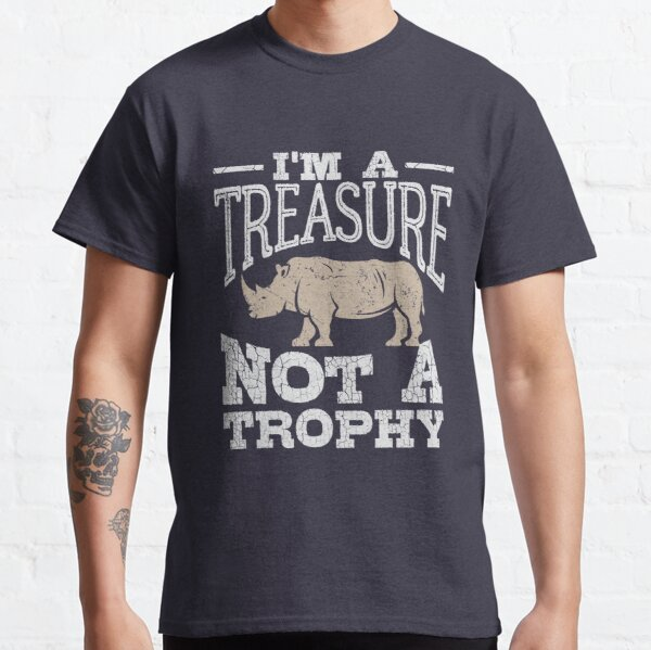 Rhinoceros Emoji Tee Shirt Design for Men and Women Rhinoceros Cool Tshirt