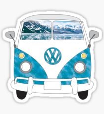 Vw Bus Sticker Redbubble