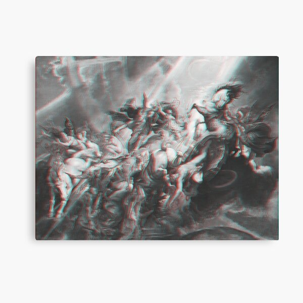 The Fall of Phaeton Anaglyph  Canvas Print