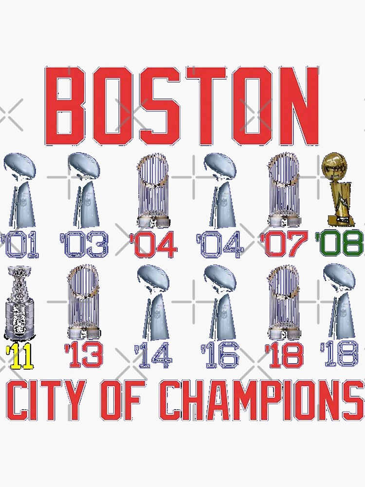 Boston City of Champions by marblequeen