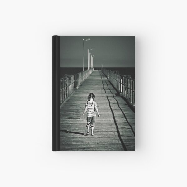 Lonely Jetty Hardcover Journal