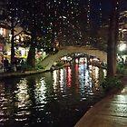 River Walk by Night by Allen Gaydos