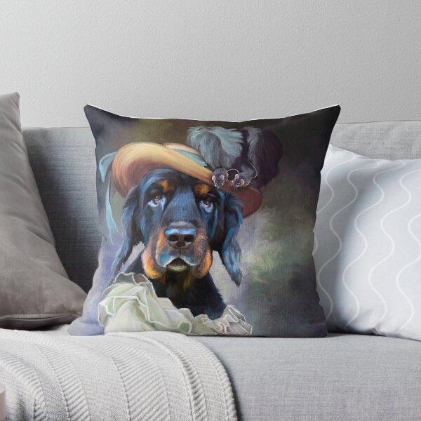 Lady Honey (PCD2572) Throw Pillow