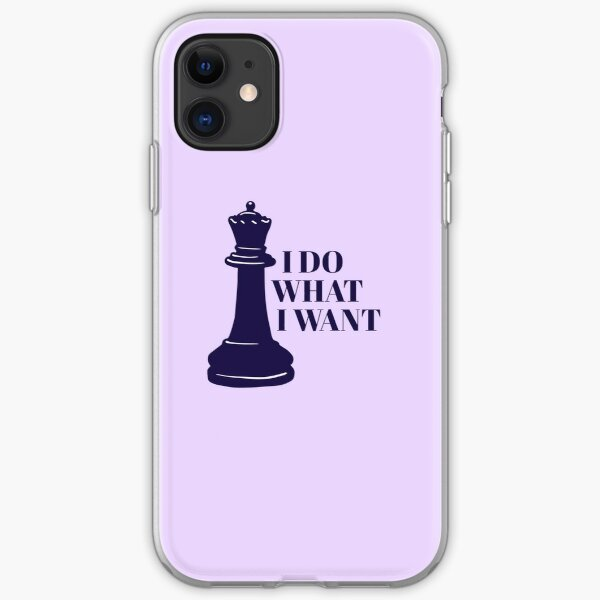 I Do What I Want iPhone Soft Case