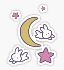 Sailor Moon inspiriert Bunny of the Moon Tagesdecke Kuscheldruck Sticker