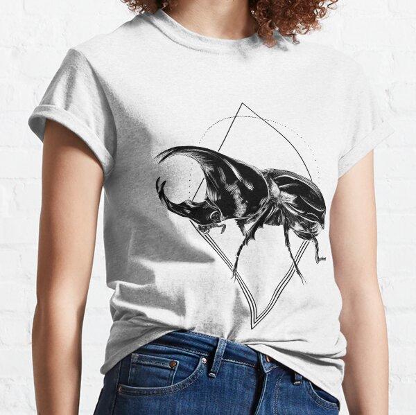 Geometric Rhino Beetle Classic T-Shirt