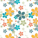 PCD3009-SUMMER RICH BLOOMS by Jackie Werner