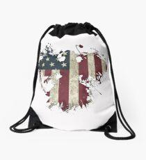 American Eagle - White Drawstring Bag