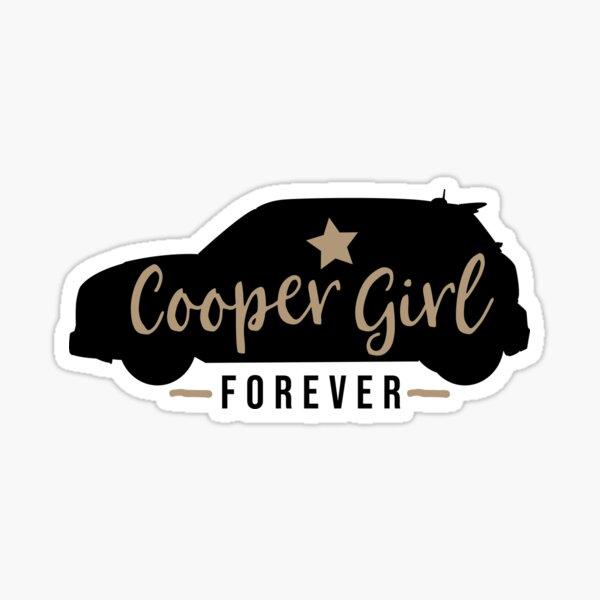 Cooper Girl Forever Sticker