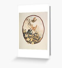 Power and Beauty Greeting Card