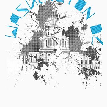Washington D.C. Blue by DitchFitch