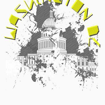 Washington D.C. Yellow by DitchFitch