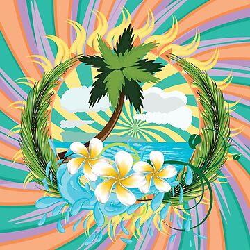 Tropic island by AnnArtshock