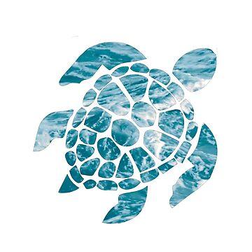 tortuga marina del océano de sluggishsloth