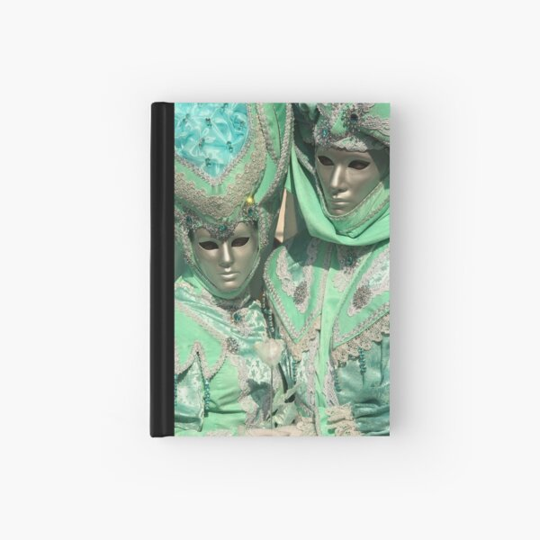 turquoise affection Hardcover Journal