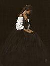 """""""Laetitia"""" Oil on Canvas by John D Moulton"""