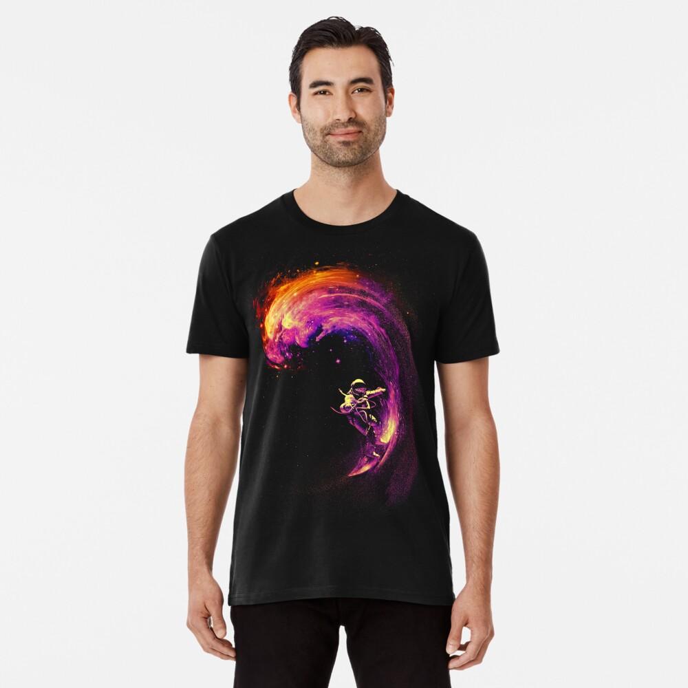 Surfen im Weltraum Premium T-Shirt