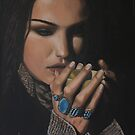 """Shiraz"" Oil on Canvas by John D Moulton"