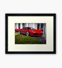 Ferrari 488 GTB Framed Print