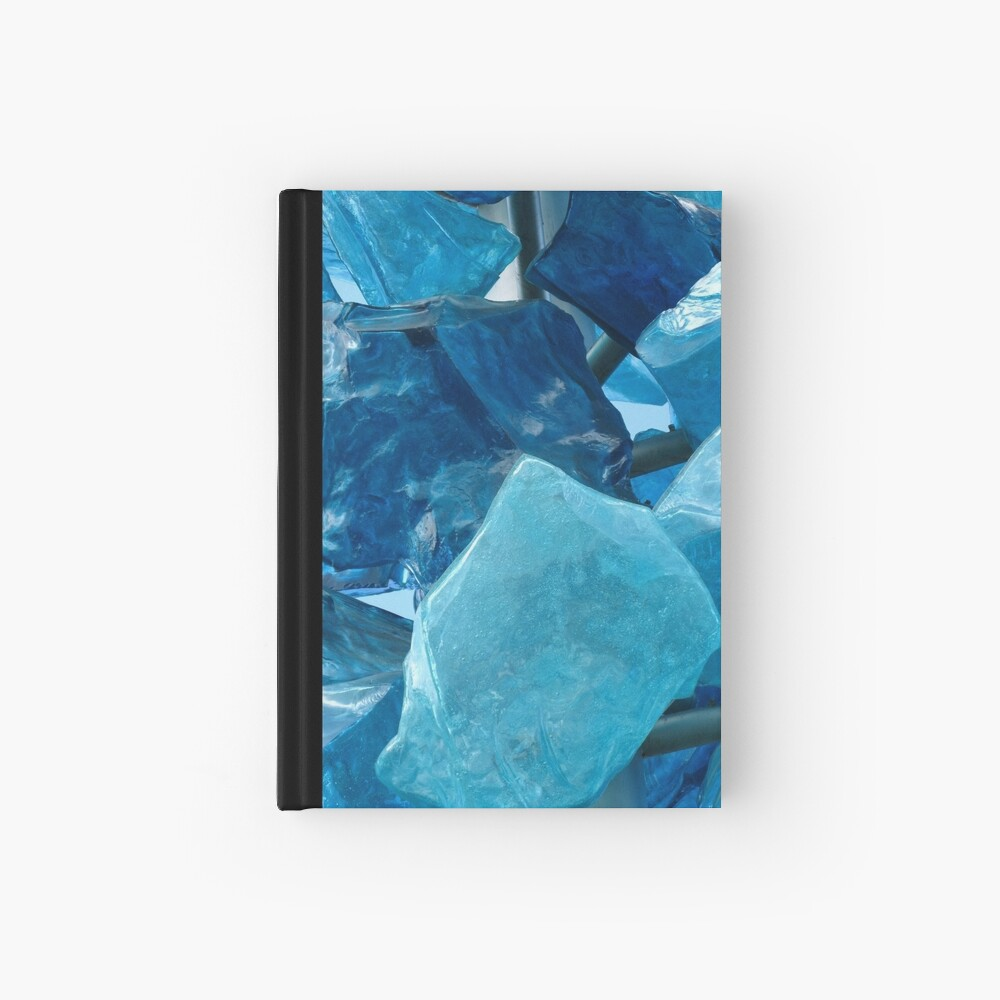 Blue Glass #1 Hardcover Journal