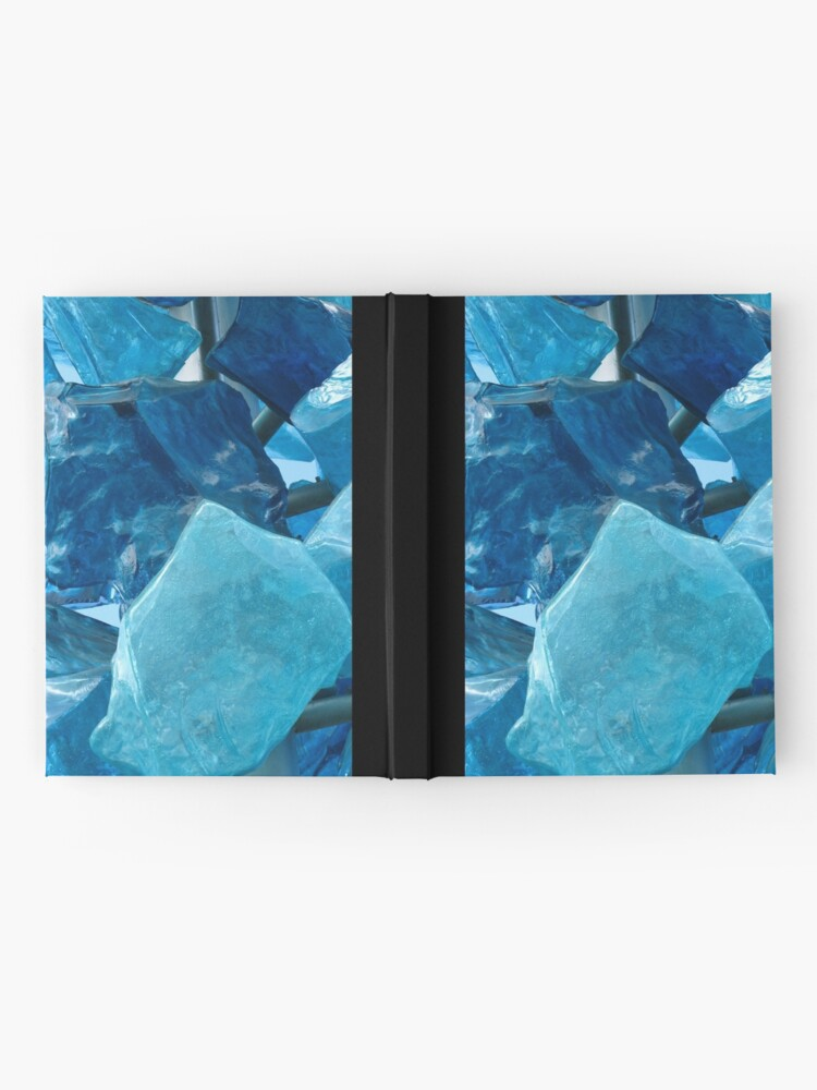 Alternate view of Blue Glass #1 Hardcover Journal